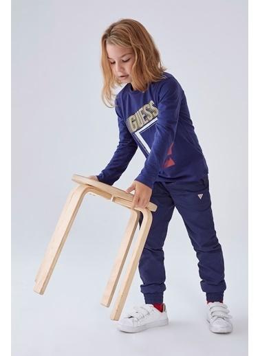 Guess Erkek Çocuk Lacivert T-Shirt Lacivert